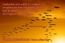 You Are A Great Boss Quotes. QuotesGram