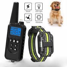 1PC Control Shock IP6X <b>Training</b> Collar Waterproof <b>800M Pet Dog</b> ...