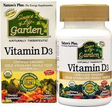 Nature's Plus <b>Source of Life</b>® <b>Garden</b>™ Vitamin D3 -- 60 Vegan ...