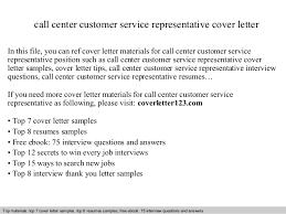 Call center customer service representative cover letter SlideShare call center customer service representative cover letter In this file  you can ref cover letter