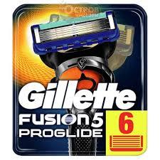 Купить <b>Сменные кассеты для бритья</b> Gillette FUSION ProGlide, 6 шт