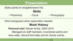 how to write a neat resume   steps    pictures image titled write a neat resume step