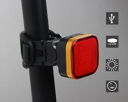 RUTVEING <b>COB Rear Bike Light</b> Taillight Safety Warning USB ...
