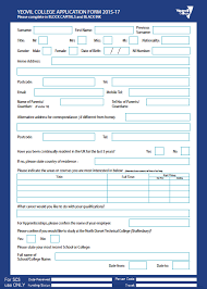 yeovil college application form able application form