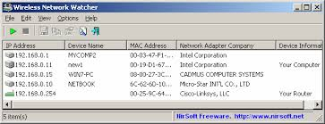 Download Wireless Network Watcher Free Software untuk Mengintip Pengguna Wifi