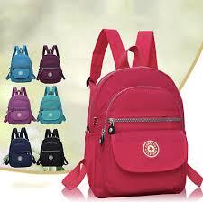 Women <b>Girls Mini</b> Backpack Nylon Rucksack School <b>Bag Travel</b> ...
