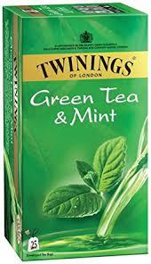Twinings Green Tea and Mint, 25 Tea Bags: Amazon.in: Grocery ...