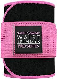 <b>Sweet Sweat</b> Premium <b>Waist Trimmer</b> (Pink Logo) for Men & Women ...
