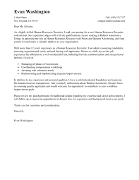 cover letters for hr jobs  tomorrowworld cocover letters