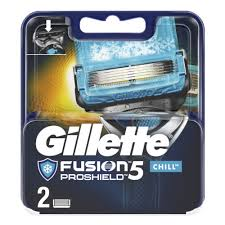 <b>Сменные кассеты</b> для бритья <b>GILLETTE Fusion5</b> ProShield Chill ...