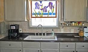 budget friendly mobile home kitchen makeover artist creates mobile homes