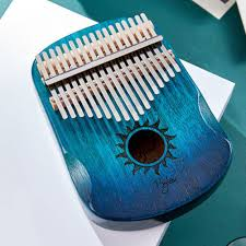 Wholesale <b>17 Keys</b> EQ <b>Kalimba</b> Sun <b>Pattern</b> Mahogany <b>Thumb</b> ...