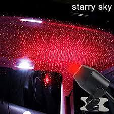 Night Lights <b>USB Car Interior</b> Atmosphere Starry Sky Lamp Ambient ...