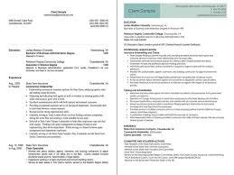Insurance Underwriter Before and After Resume Sample jpg from Legz     MerchantCircle com