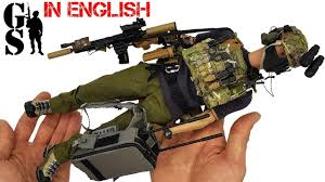 British S.A.S. operator: <b>1/6 scale</b> action <b>figure</b> assembly - YouTube