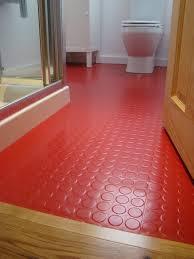 bathroom green rubber flooring