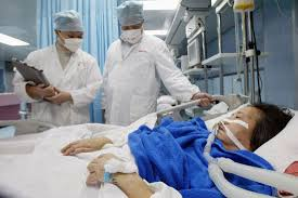 Image result for sars patient in hospital
