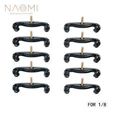 <b>NAOMI</b> 1/8 Violin Shoulder Rest Feet <b>10PCS</b> Violin Shoulder Rest ...