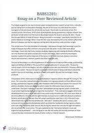 sample article review essayquot anti essays  mar  free sample article review essay