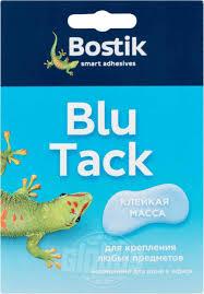 <b>Клейкая масса</b> для крепления различных предметов <b>Bostik Blu</b> ...