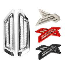 <b>2pcs</b>/set <b>Car styling ABS</b> Plating Chrome <b>Car Car Styling</b> Air Flow ...
