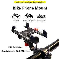 <b>Aluminum Alloy Bike Phone</b> Mount with 360- Buy Online in Gibraltar ...