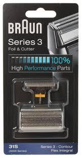 <b>Сетка</b> и режущий блок <b>Braun 31S</b> (<b>Series 3</b>) — купить по ...