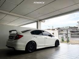 2014 Honda Civic Work Ce28 Zerone Ssr550   Fitment Industries