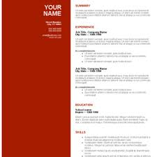 download free resume templates  seangarrette coresume template download burgundy red free       resume