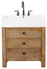 bathroom vanity unit units sink cabinets: reclaimed wood bathroom vanity single sink