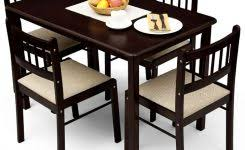 four dining room chairs for nifty dining table with four chairs dinning table modest basic bedroom furniture photo nifty