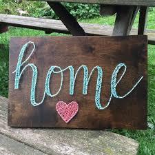 heart home string art by seasonofseeking on etsy httpswwwetsy artistic home office track