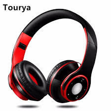 <b>Tourya</b> H8 Headphones <b>Bluetooth</b> Wireless Headphone Headset ...