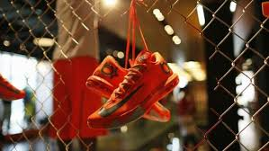 Money  Analysis  Your sneakers are a case study in why Trump     s     Shoes are displayed in the Nike store in Santa Monica  California  September