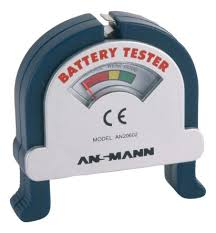 <b>4000001</b> | <b>Ansmann 4000001 Battery Tester</b> All Sizes | RS ...