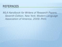 lt ul gt  lt li gt MLA Handbook for Writers of Research Papers  Seventh Edition