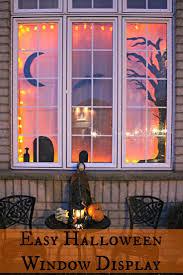 love halloween window decor: jenns random scraps november easy halloween window display shared at brag about it link