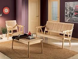 Мебельный <b>набор для отдыха</b> из массива