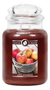 <b>Ароматическая свеча</b> Apple Bourbon (Яблочный бурбон) Goose ...