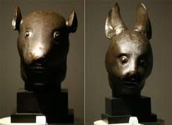 Two <b>Bronze Animal</b> Heads – <b>China</b> and Pierre Bergé — Centre du ...