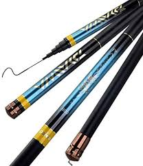 ZFF <b>Telescopic Fishing Rod</b> Portable Carbon Fiber 8-16 Meters ...