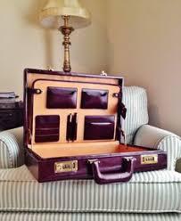 The Alchemist Collection | Metalic hat box Briefcase Overnighter ...