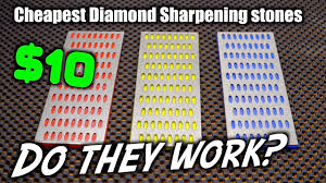 Do Cheap <b>Diamond Knife Sharpening Stones</b> Actually Work ...