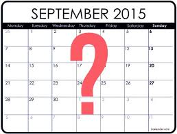 Image result for pic of september 2015
