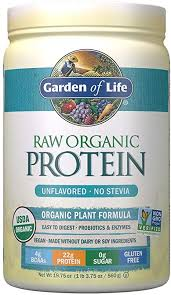 Garden of Life Raw Organic Protein Unflavored ... - Amazon.com
