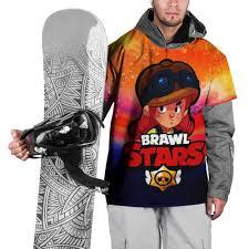 Накидка на куртку 3D Brawl Stars - <b>Jessie</b> M 2030731, размер:M