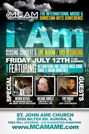the ame church international music christian arts ministry mcam international music and christian arts conference concert 2013 front