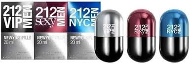 <b>Carolina Herrera 212</b> Love Me Pills (Men) EdT in duty-free at airport ...