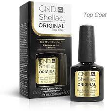 Generic <b>CND Shellac Original UV</b> Top Coat 0.25oz / 7.3ml: Amazon ...