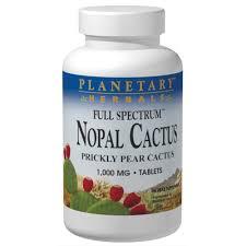 Planetary Herbals <b>Full Spectrum Nopal Cactus</b> (60 tablets) – Hi-Health